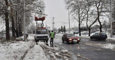 Зимната обстановка в Хасковска област се нормализира